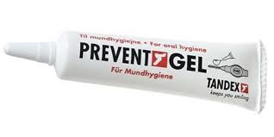 Tandex, Prevent Gel, 15 ml, blister, 5 tuber