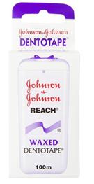 Johnson & Johnson, Dentotape, Flad, Vokset, Tandtråd, 100 m