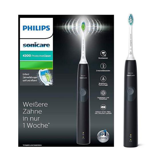 Philips, el-tandbørste, Protective Clean, sort, 1 stk