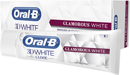 Oral-B, 3D White Luxe Glamous White, 75 ml