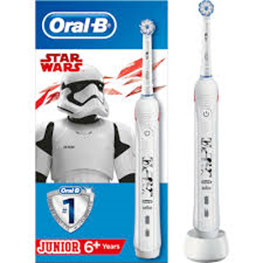 Oral-B, el-tandbørste,Star Wars,Junior 6+,1stk