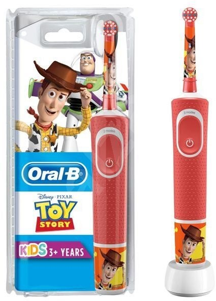 Oral-B, el-tandbørste, Vitality Kids, Toy Story