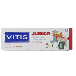 Dentaid, Vitis, Trutti Frutti, Gel-Tandpasta, 75ml