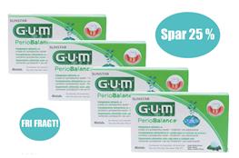 GUM Periobalance sugetablet, 30 stk.*4. SPAR 25% + FRI FRAGT