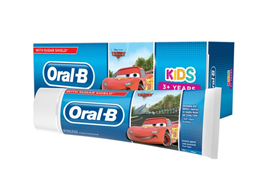 Oral-B, tandpasta, Stages, Cars, 75 ml