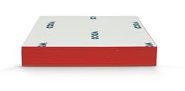 Blandeblok, 6x4 cm, 10 stk