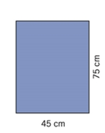 Evercare, afdækningstykke, 45x75 cm, 120 stk
