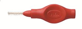 Tandex, FLEXI, interdentalbørste, PHD 0.9mm /0.5 mm, rød, 6 stk