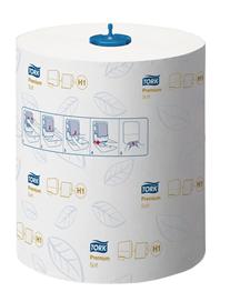 Tork Matic, H1, håndklædeark, premium, soft, hvid, 100 m, 6 ruller