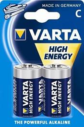 VARTA, batterier, LR14, 2 stk