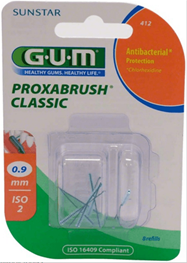 GUM Proxa, CLASSIC, iso 2, 0.9 mm, 8 stk