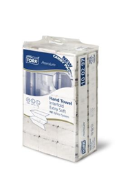 Tork Xpress, H2, håndklædeark, hvid, 21 pakker