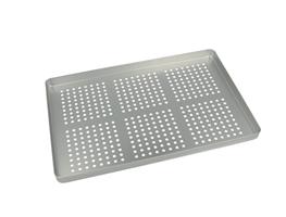 Aluminiumsbakke, perforeret, 1 stk