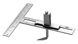YDM, modelmålingsinst., YS-34, m. diagram, 1 stk