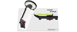 Deppeler, Easy Sharpe, slibe værktøj, 1 stk