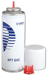 Royal gas, sprayflaske m/diverse adaptere, 200 ml