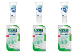 Oral-B, Gum & Enamel/Soft-Picks, Advanced, Medium-3stk - SPAR 20 %